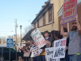 KKK Dhalonega Protest