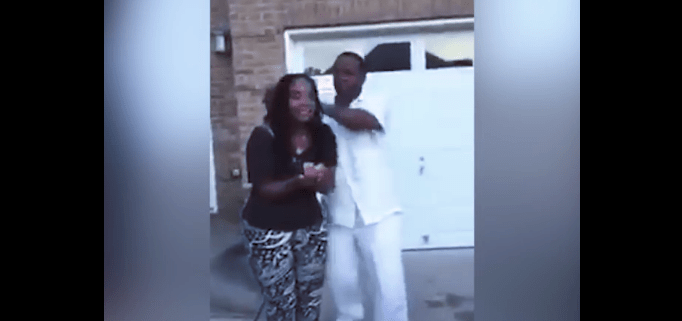 Video Love Husband Blindfolds And Surprises Wife With Gift And Her