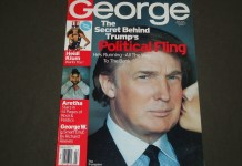 GEORGE COVER OF TRUMP