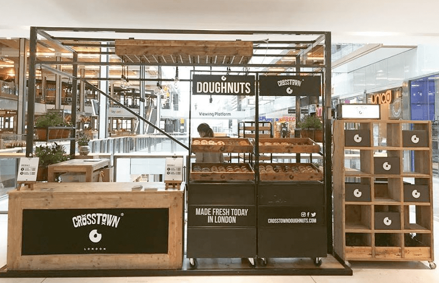 Crosstown's new pop up is at Westfield Stratford