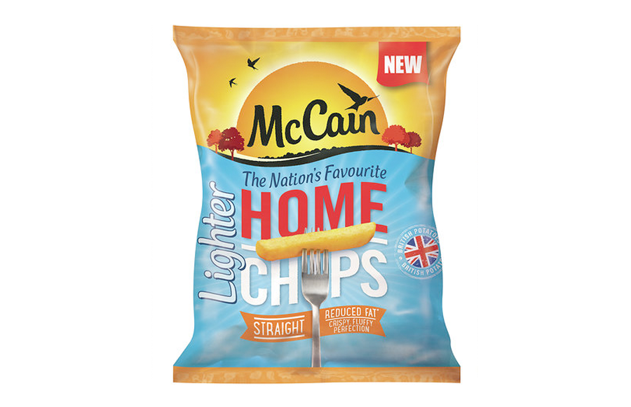 McCain have launched new chips with 30% less fat! - Urban Intention