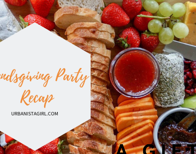 Friendsgiving Party Recap