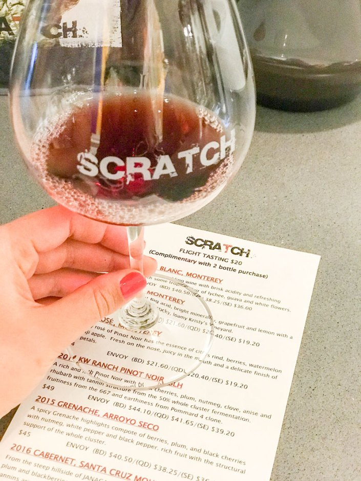 scratch wine carmel valley