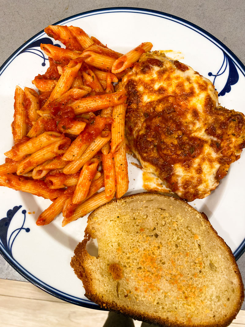 the best chicken Parmesan to make while in isolation