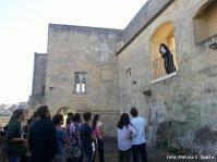 Una monaca custodisce il convento delle SS. Lucia e Agata alla Civita.