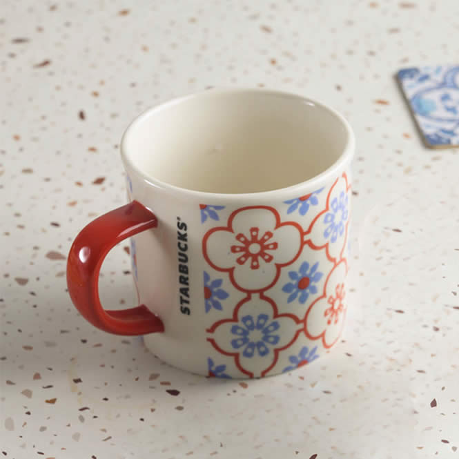 Starbucks Vintage Tile Mugs