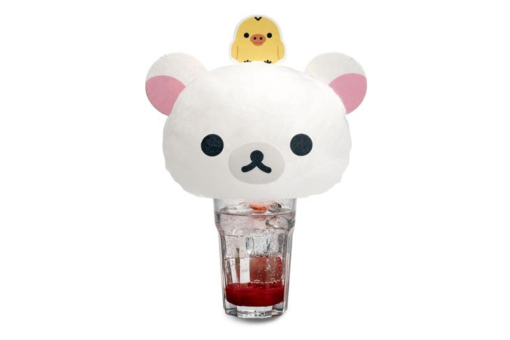 Korilakkuma Fizzy Strawberry Soda