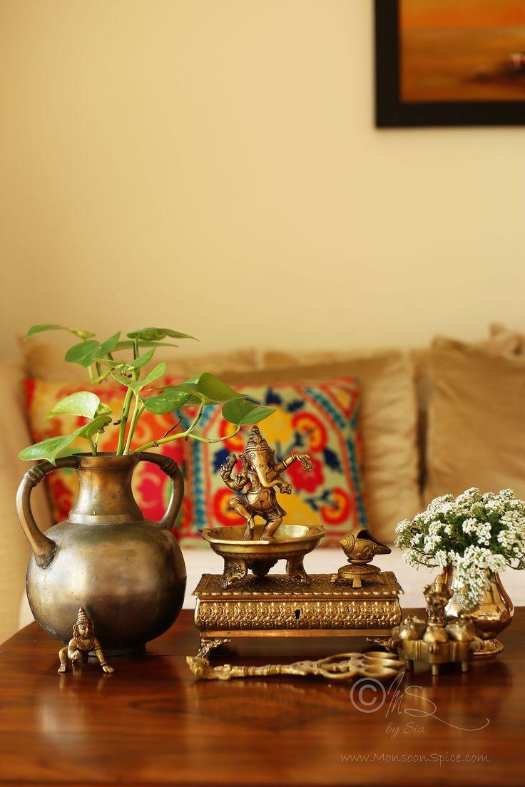 N Interiors Ethnic Decor Traditional Living Room Furniture