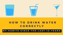 How to drink water correctly