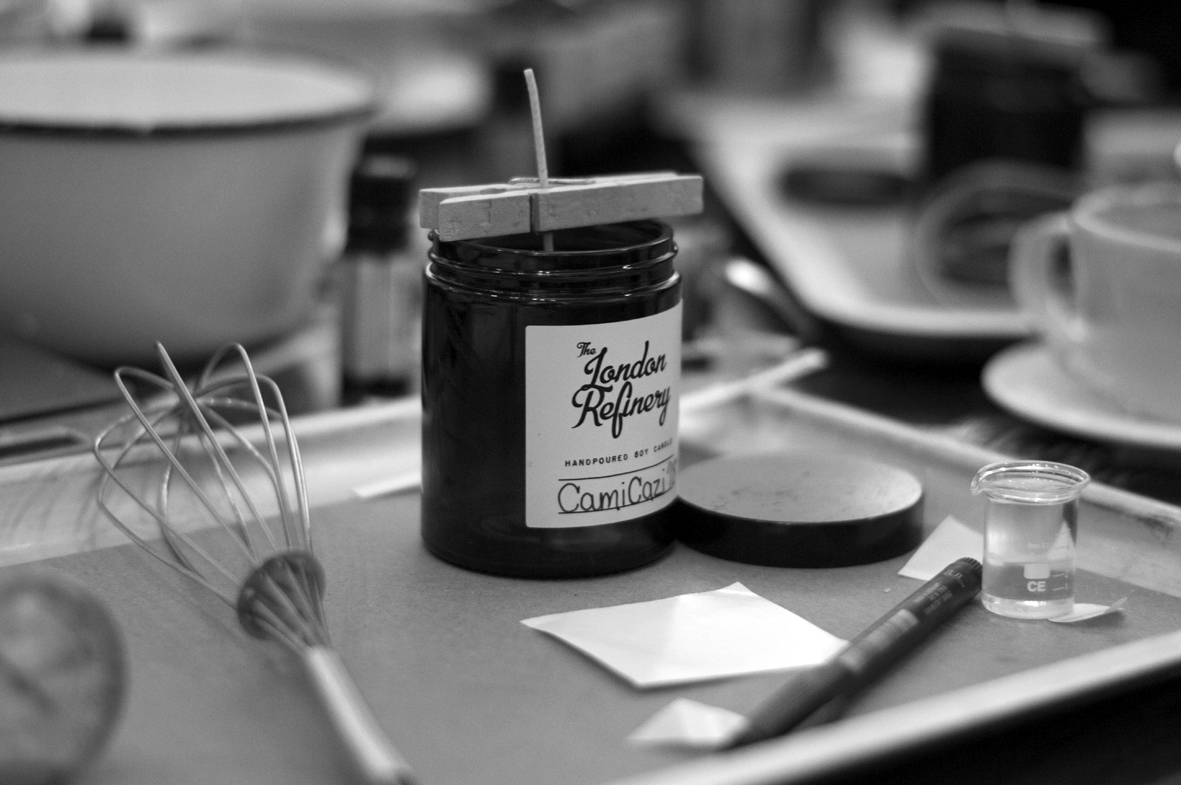 Candle making workshop with The London Refinery