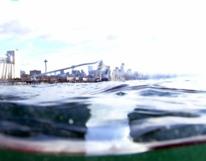 Photo of Seattle from the water