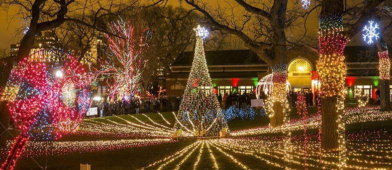 holiday light displays christmas - Chicago Christmas