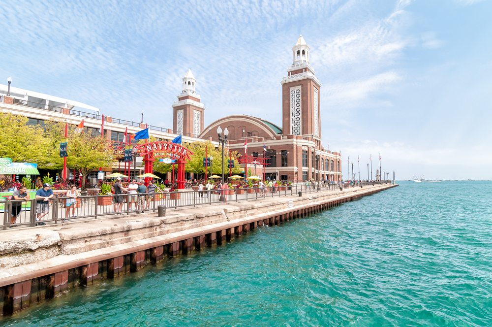 the chicago art design show is all new at navy pier this spring