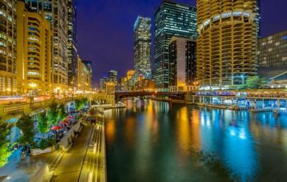 chicago river float