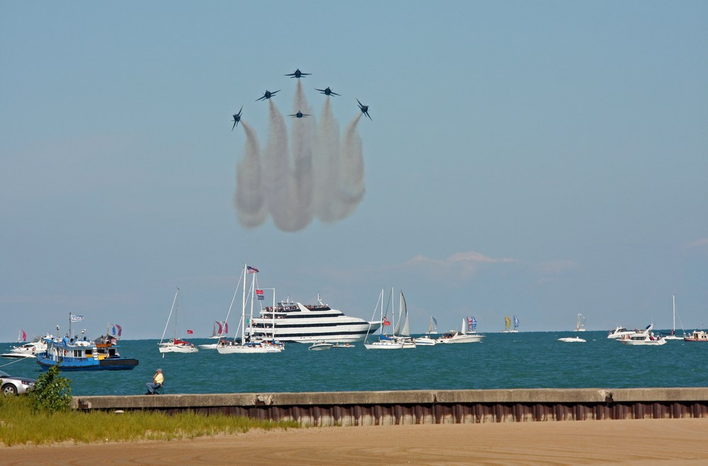 david ross chicago air and water show