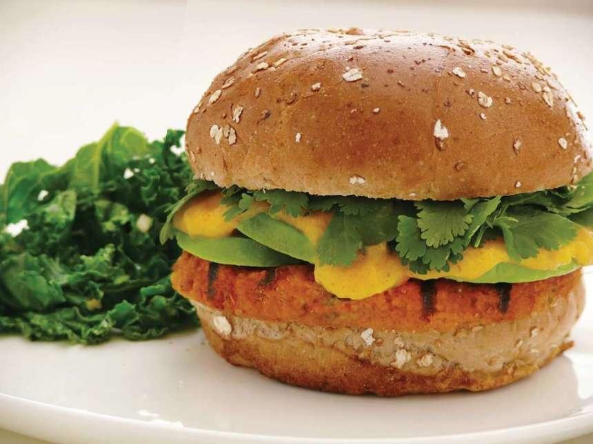 Buddha's Taco Burger