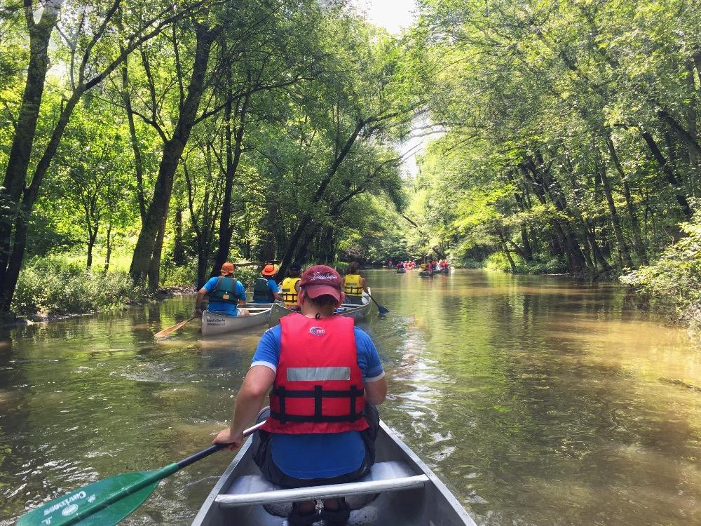 Go canoeing