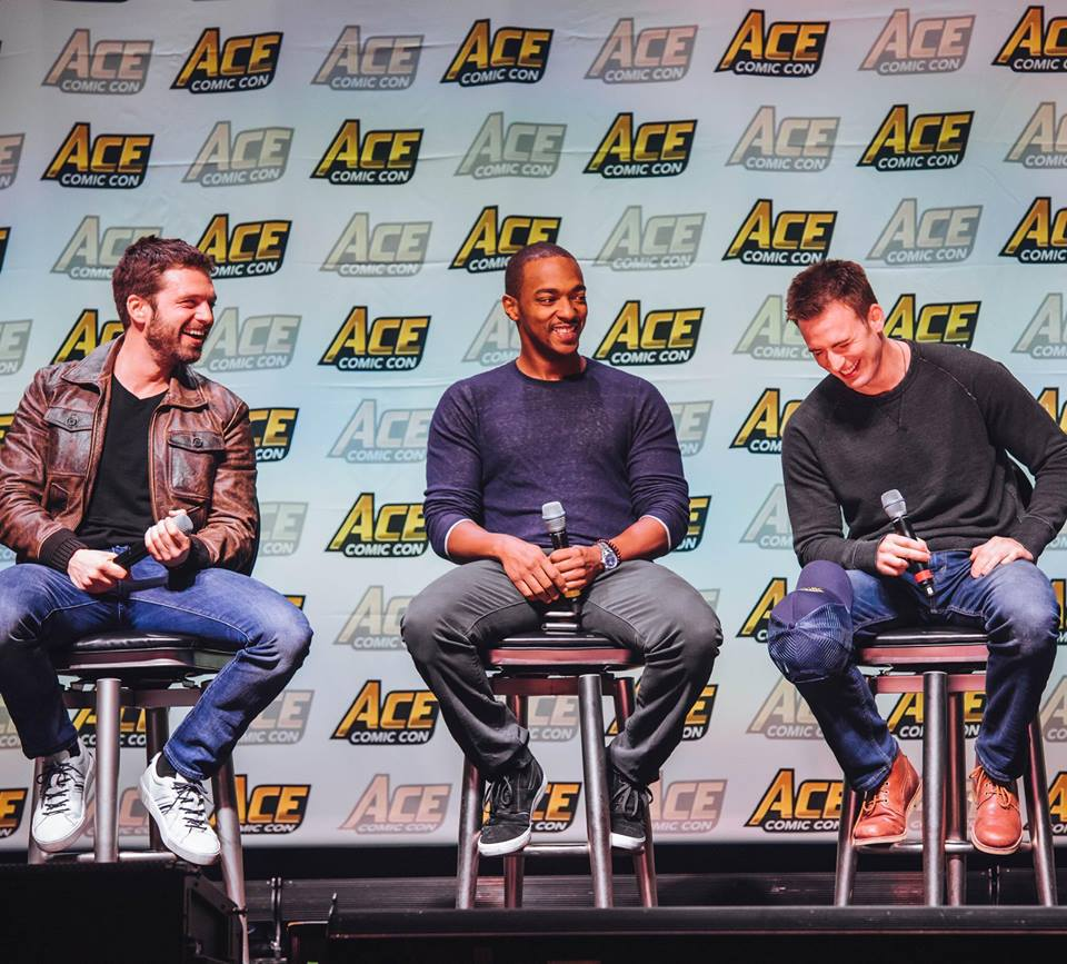 Chris Evans And Tom Hiddleston Headline Ace Comic Con Midwest