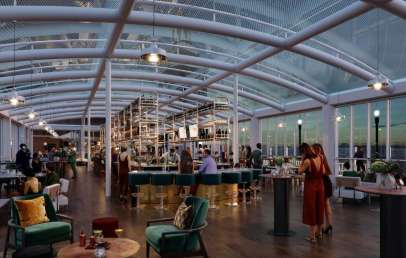 Offshore, the Nation's Largest Rooftop Bar, Open Now in Chicago