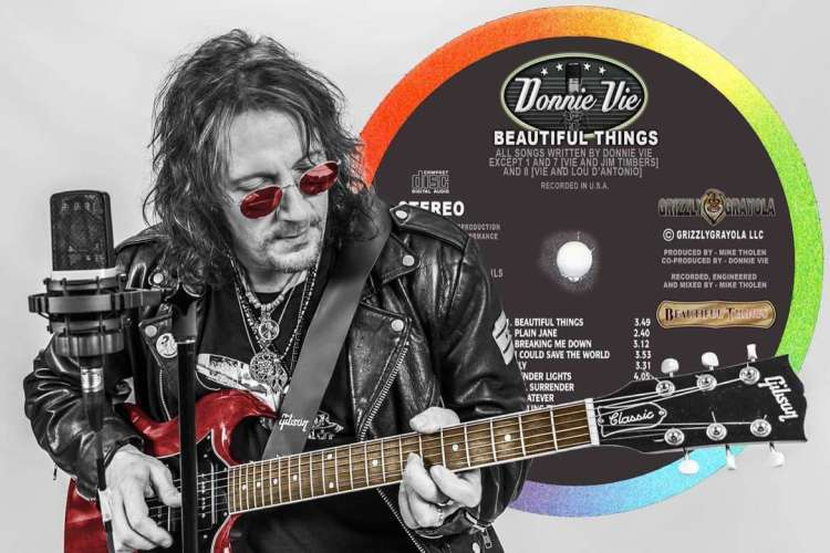"Exclusive: Donnie Vie On New Album ""Beautiful Things,"" Life After Enuff Z'Nuff & What's Coming Up For Him 