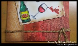 Wine Bottle and Glass Card 9