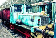 urbex- the abandoned trains