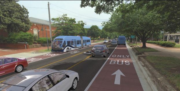 BRT Renderings. Rendering from of MCTS.
