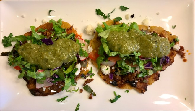 Loaded Huaraches - Street food bliss!