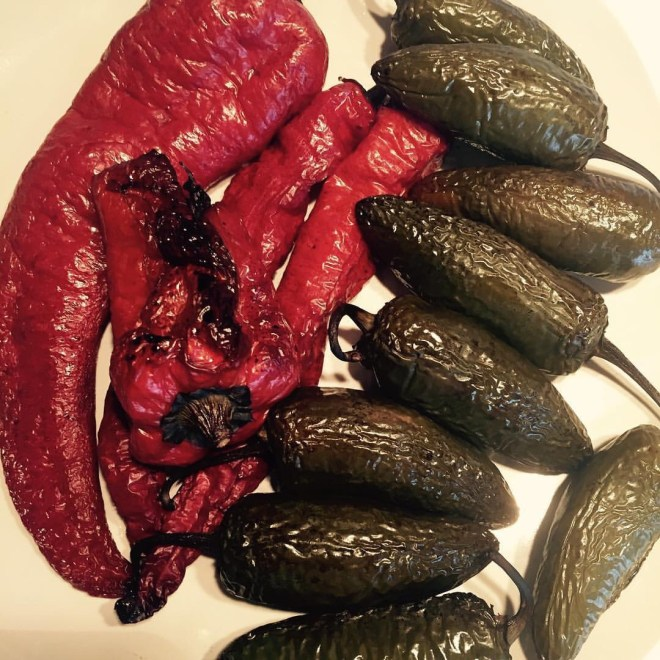 Chiles are a must in charro beans