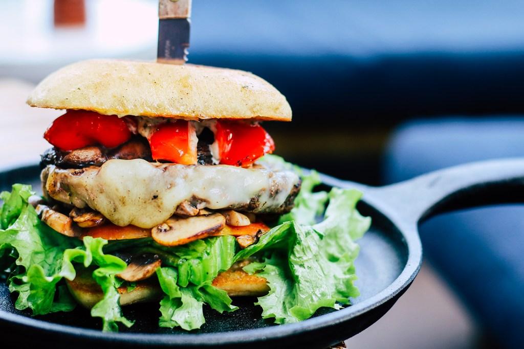 Portabello Mushroom Burger