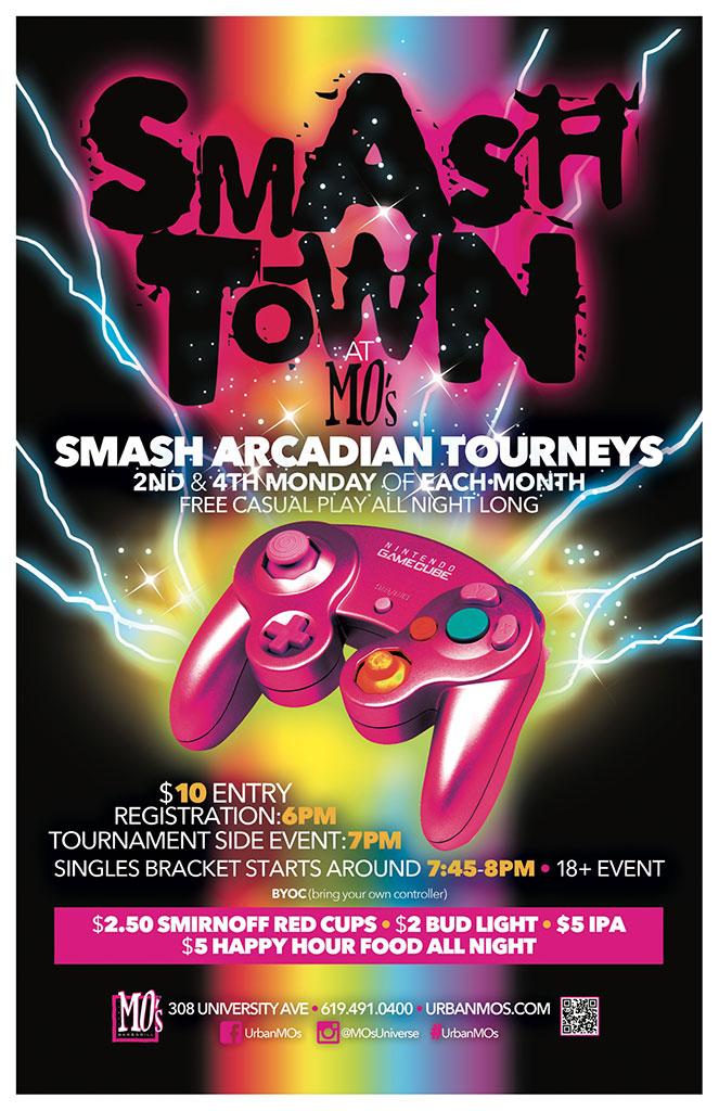 Smash Town at MO's