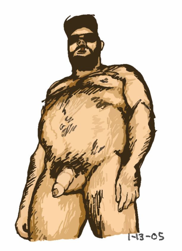 uncut pig belly