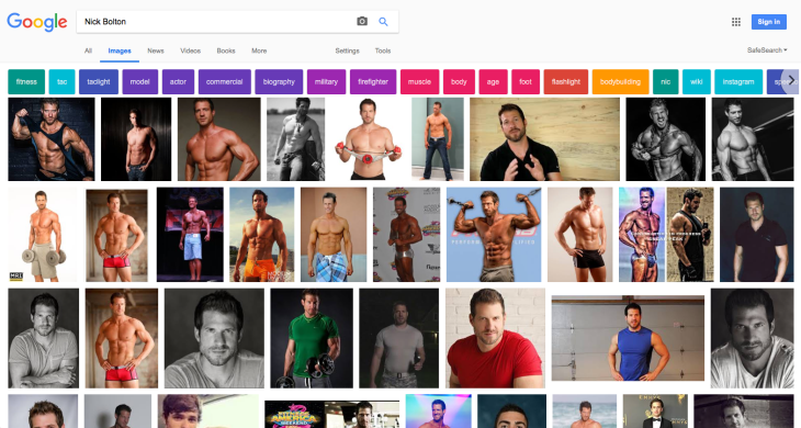 Nick Bolton google search