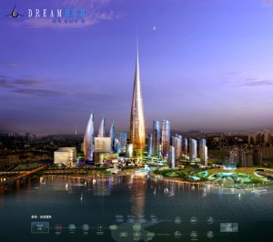The planned Yongsan Dream Tower