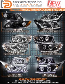 Vision - Projector Headlight Specials