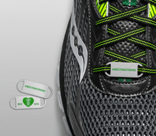 Saucony #BostonStrong Lace Medallions