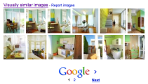 Similar images section