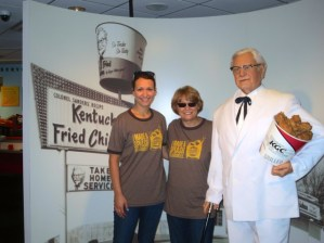 Celebrating with the Colonel