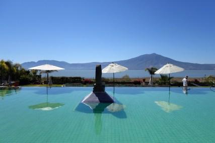 Natural thermal pool at Cosala