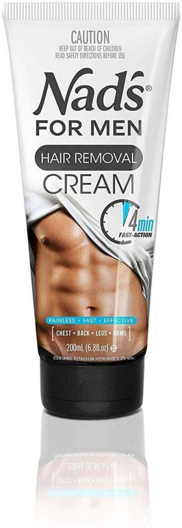 1.Nad's for Men Hair Removal Cream 6.8 Oz