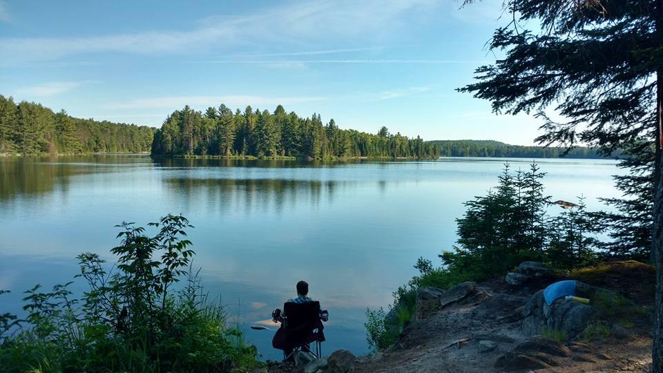 View of Tom Thomson lake