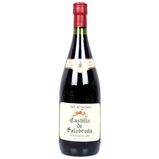 Castillio De Salobrena Red 100 Percent No Alcohol Fruit Wine, 1 Liters