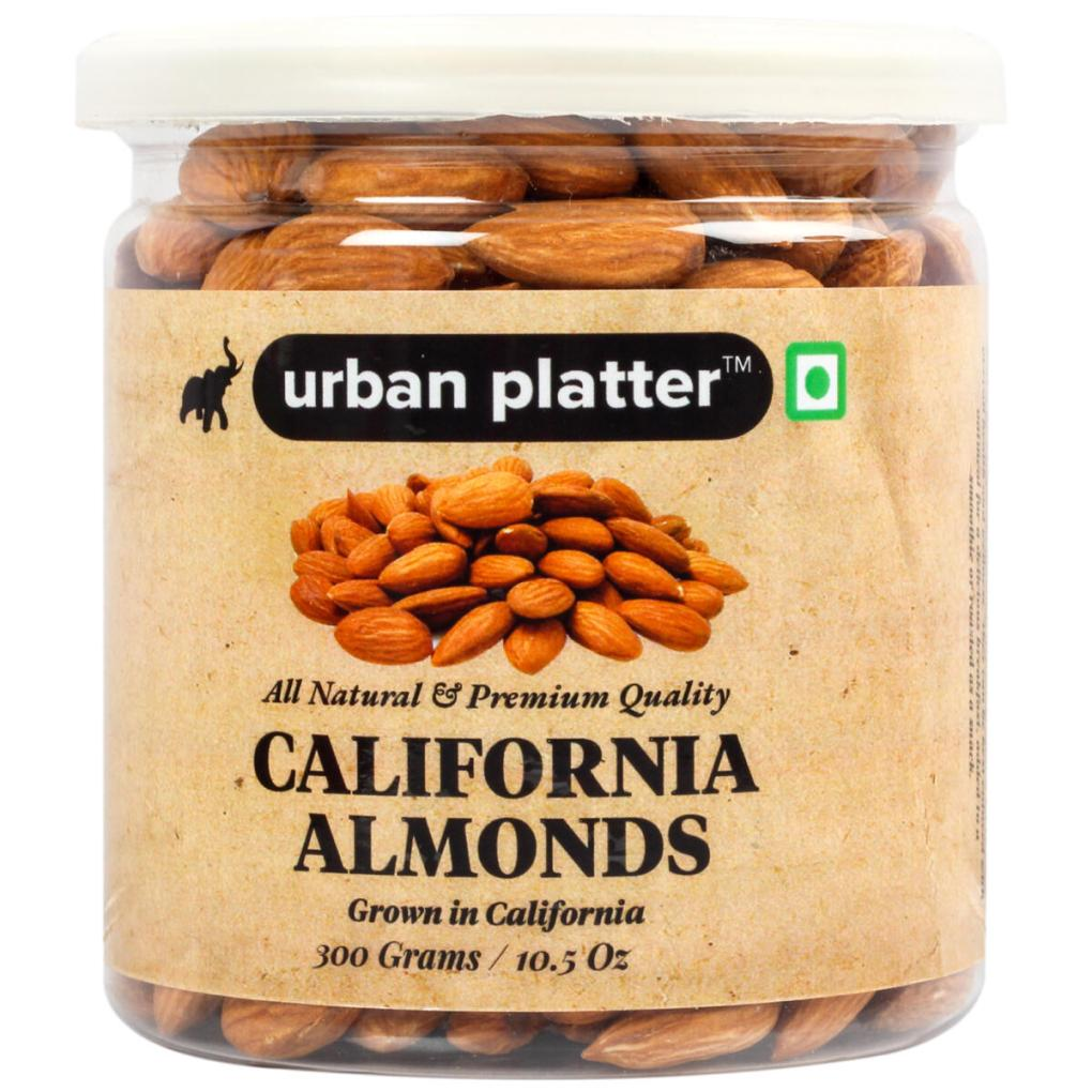Urban Platter California Almonds, 300g