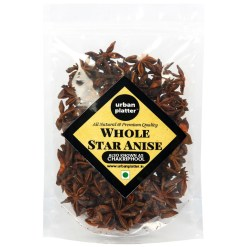 Urban Platter Asian Star Anise (Chakri Phool), 50g (Premium Quality, Highly Aromatic, Imported from Vietnam)