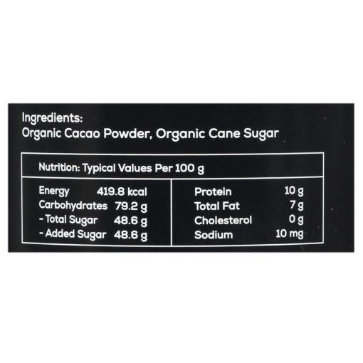 Mason & Co. Organic Drinking Chocolate, 200g [Organic, Gluten Free, Soy Free, Vegan, Non Alkanised]