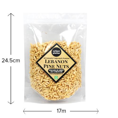 Urban Platter Lebanon Pine Nuts, 500g (Premium Quality Chilgoza)