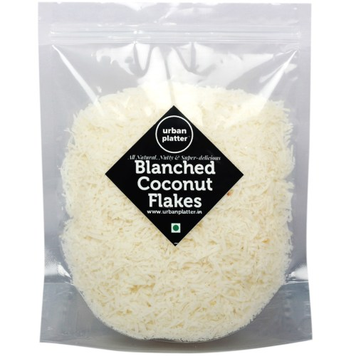 Urban Platter Dried Blanched Coconut Flakes, 400g