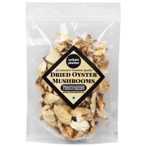 Urban Platter Dried Oyster Mushrooms, 100g