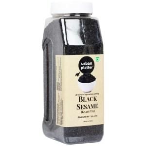 Urban Platter Black Sesame (Kaale Til) Seeds Shaker Jar, 600g