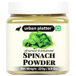 Urban Platter Dehydrated Spinach Powder, 250g/8.8oz [All Natural, Dehydrated, Rich In Iron]
